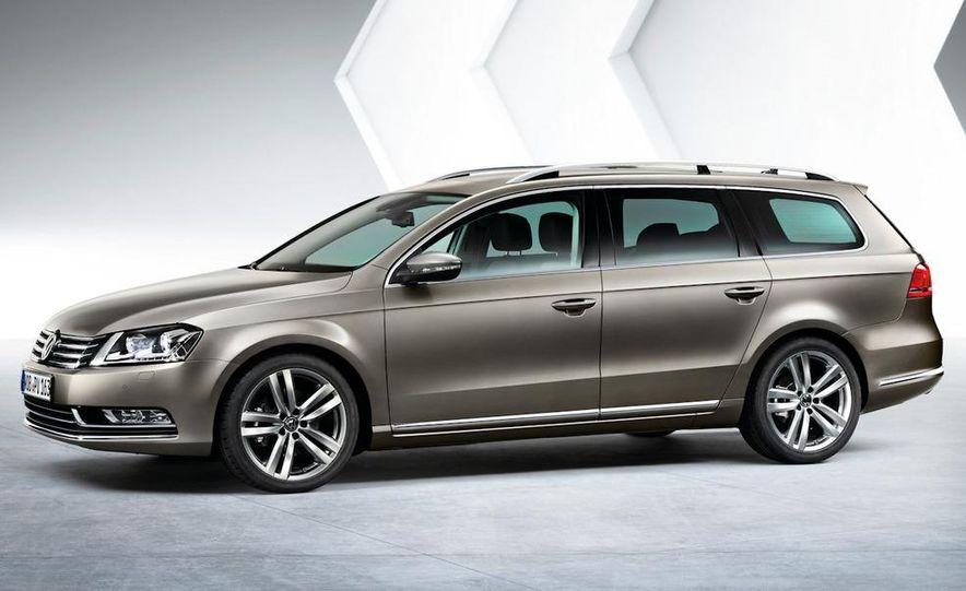 2011 Volkswagen Passat (European spec) - Slide 27