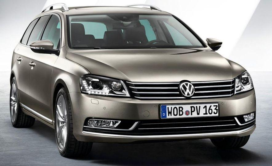 2011 Volkswagen Passat (European spec) - Slide 26