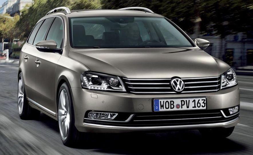 2011 Volkswagen Passat (European spec) - Slide 23