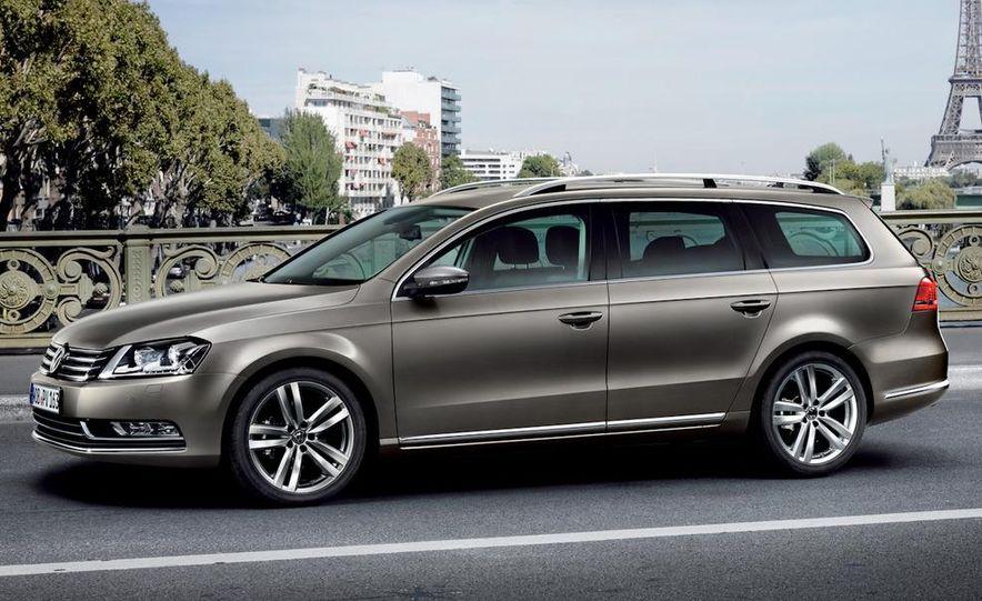2011 Volkswagen Passat (European spec) - Slide 24