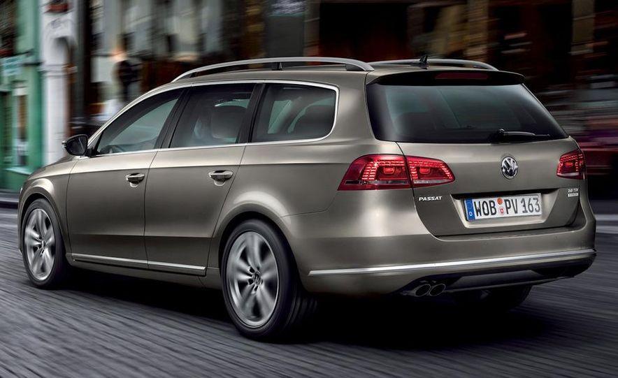 2011 Volkswagen Passat (European spec) - Slide 25