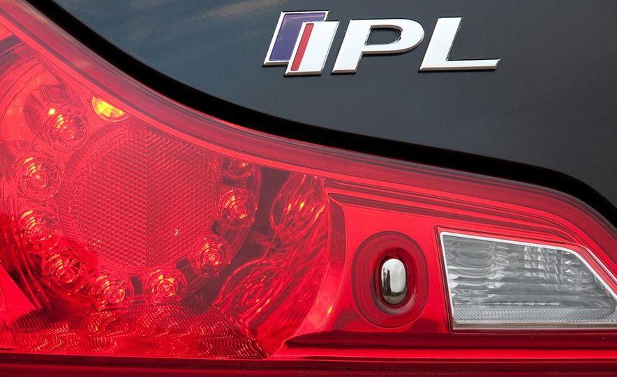 2011 Infiniti IPL G Coupe - Slide 15