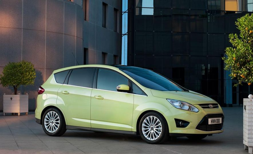 2012 Ford C-Max and Grand C-Max (European spec) - Slide 18