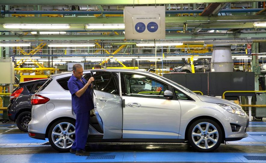 2012 Ford C-Max and Grand C-Max (European spec) - Slide 33