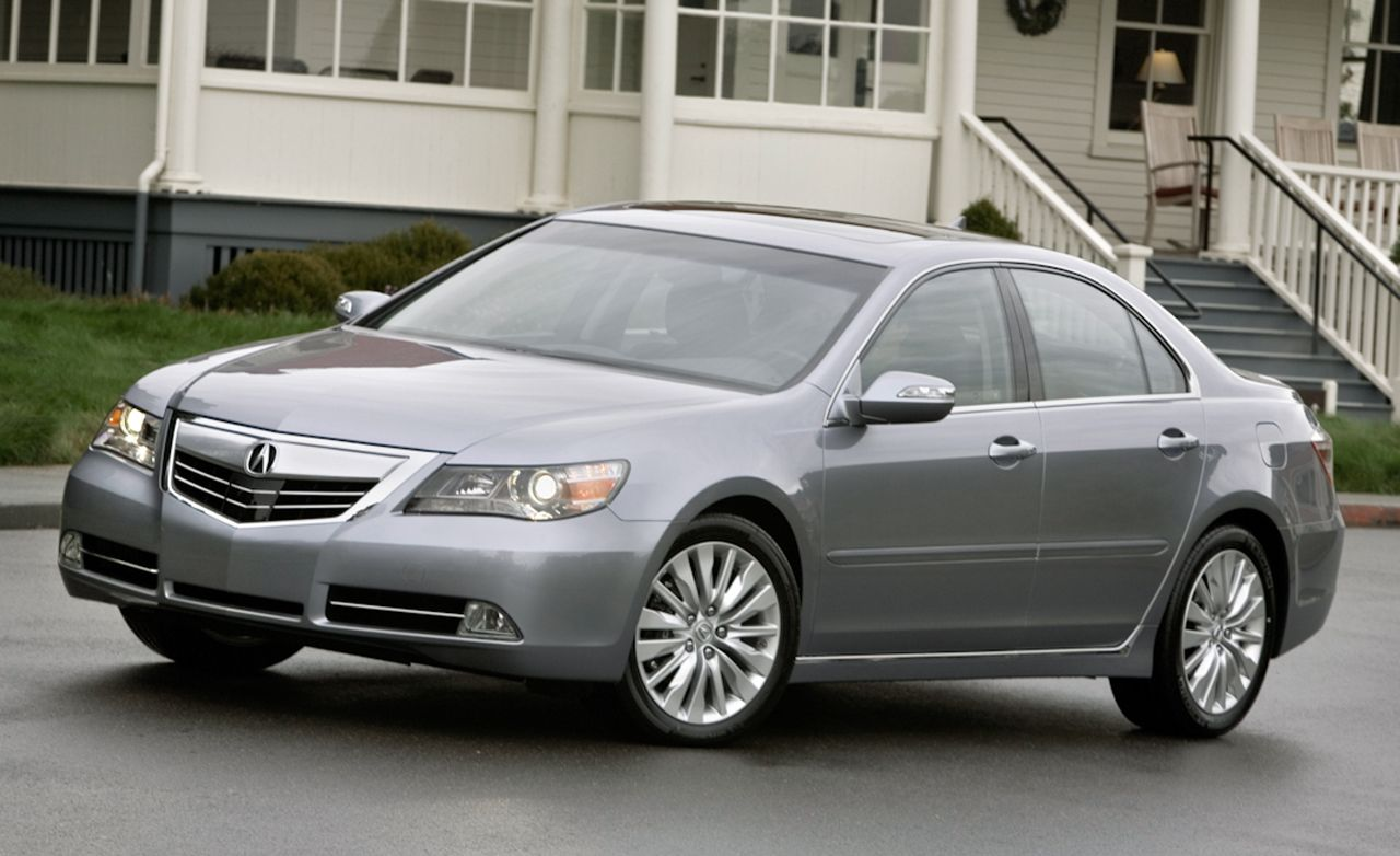 2011 Acura RL Test: Acura RL Review
