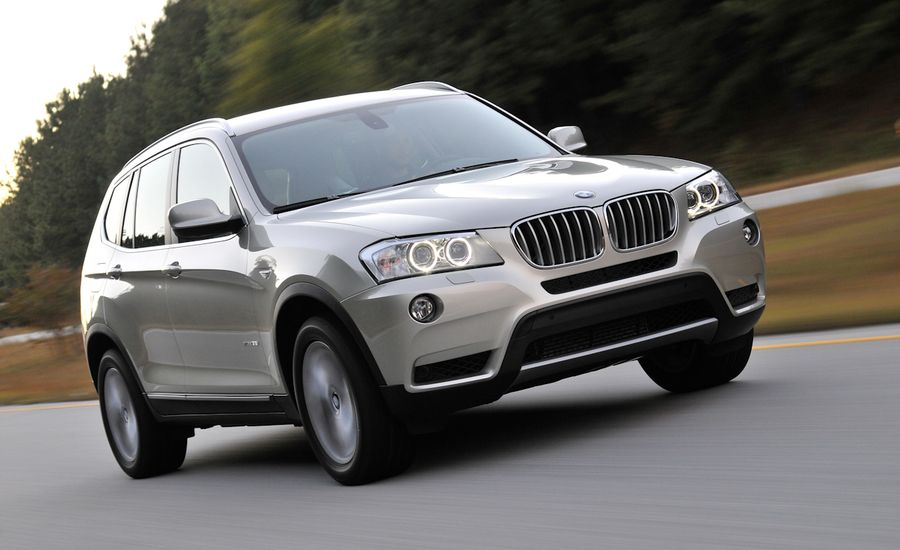 2011 bmw x3 review car and driver. Black Bedroom Furniture Sets. Home Design Ideas