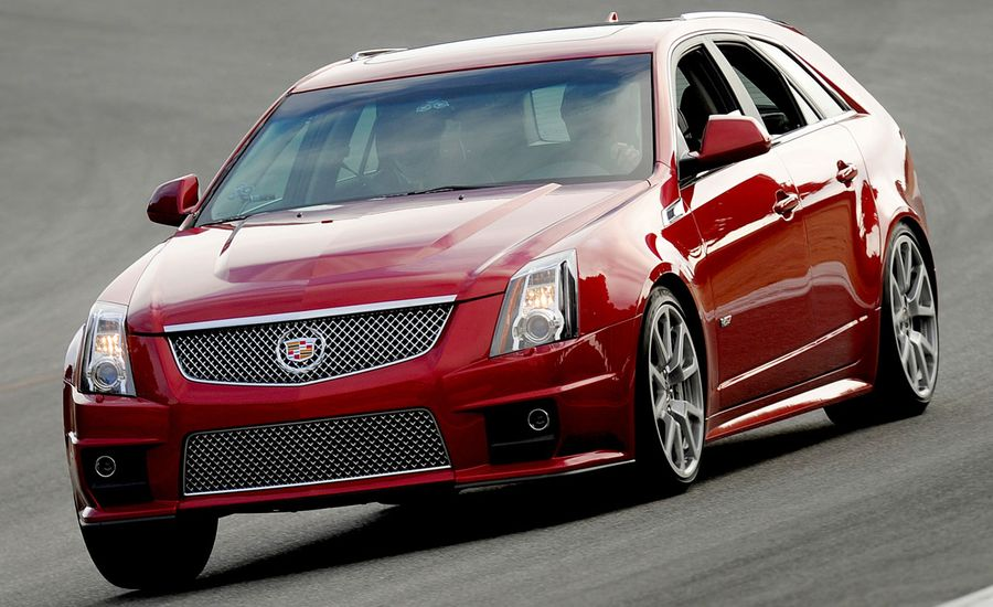2011 cadillac cts v sport wagon test cadillac cts drive car and driver. Black Bedroom Furniture Sets. Home Design Ideas