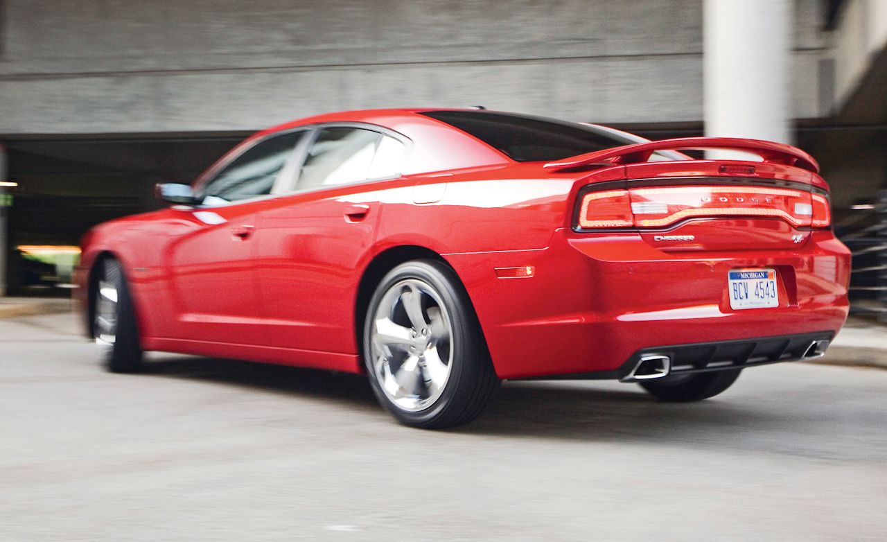 Click here for each car s actual lap time at caranddriver com look - 2011 Dodge Charger