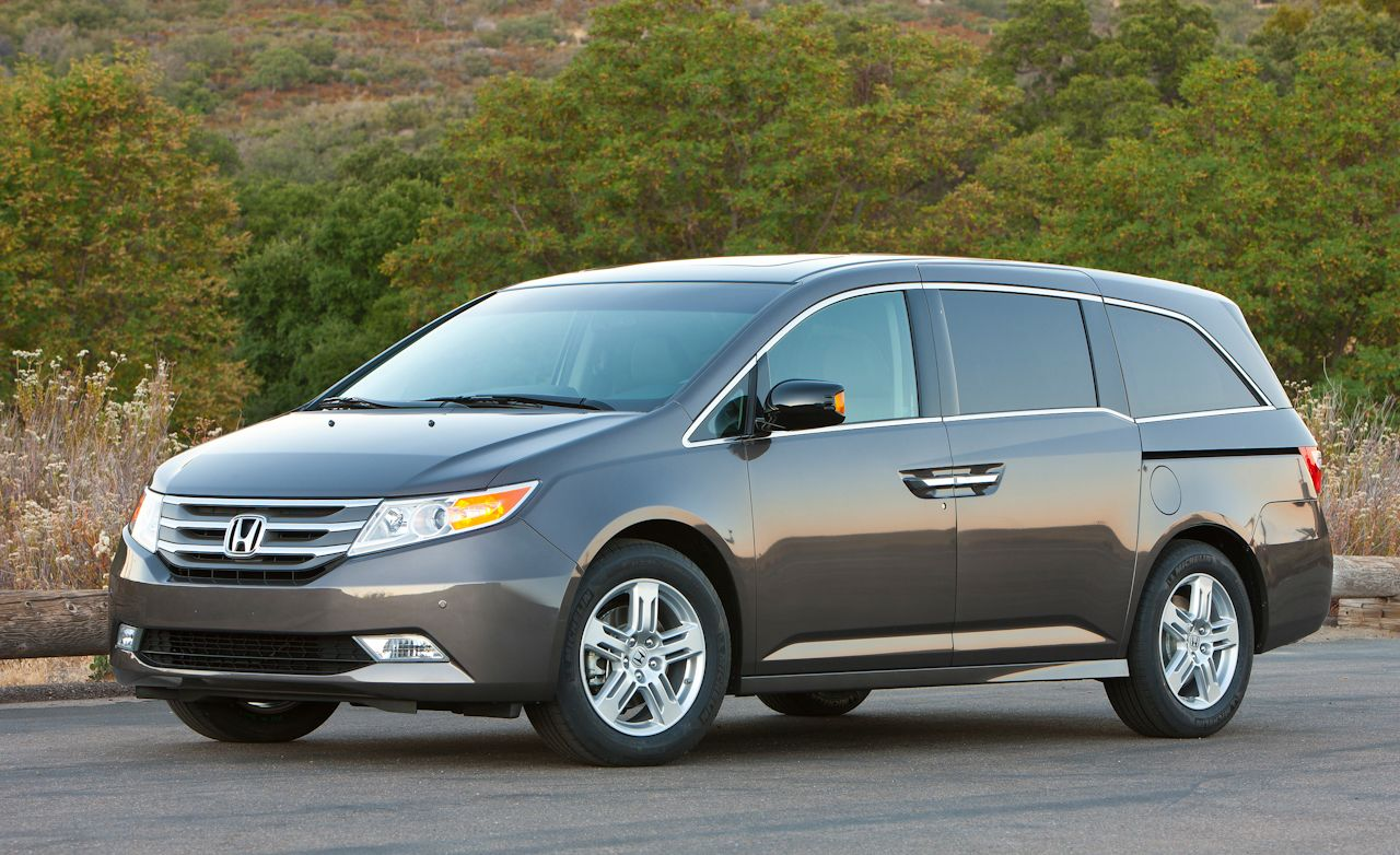 2011 Honda Odyssey Touring Elite Instrumented Test Car