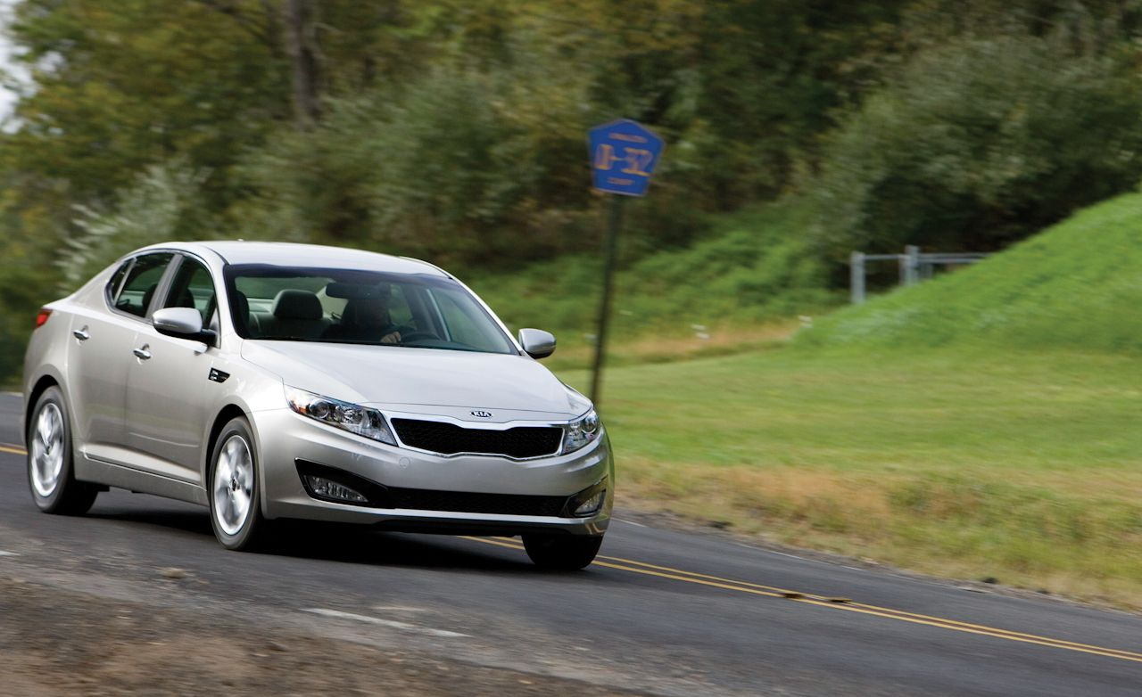 2011 kia optima ex test review car and driver rh caranddriver com 04 Kia Optima Engine Kia Optima Transmission Filter Location