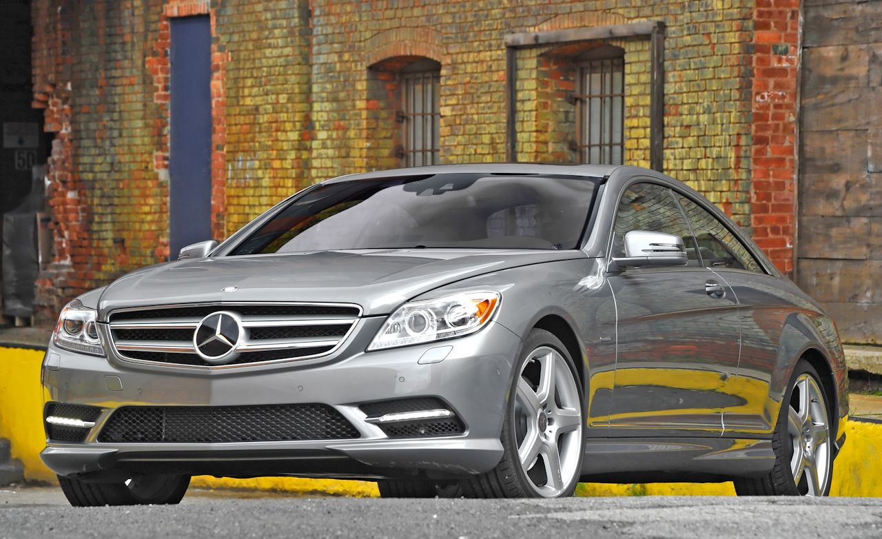 2011 Mercedes Benz CL550 4MATIC: Mercedes Benz CL Class Test   Car And  Driver