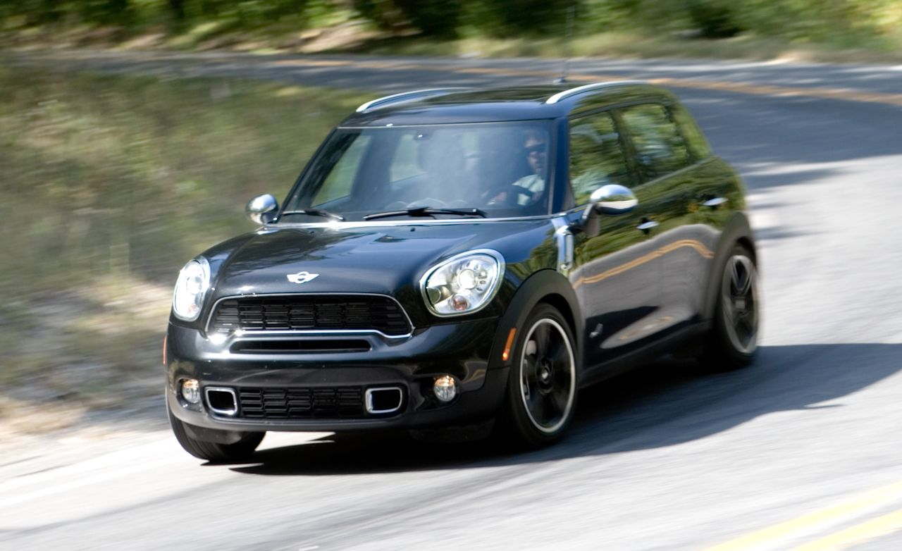 2011 mini cooper s countryman all4 instrumented test. Black Bedroom Furniture Sets. Home Design Ideas