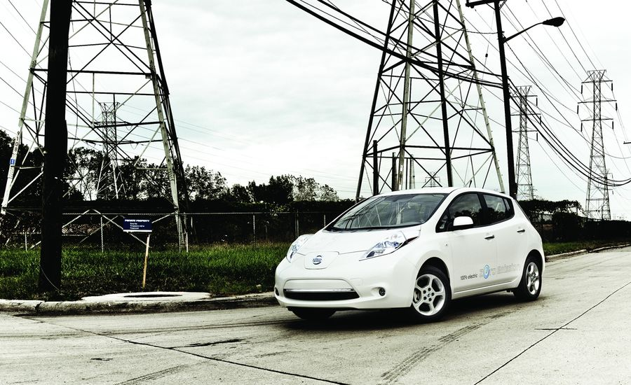 2011 Nissan Leaf Sl Test Review Car And Driver