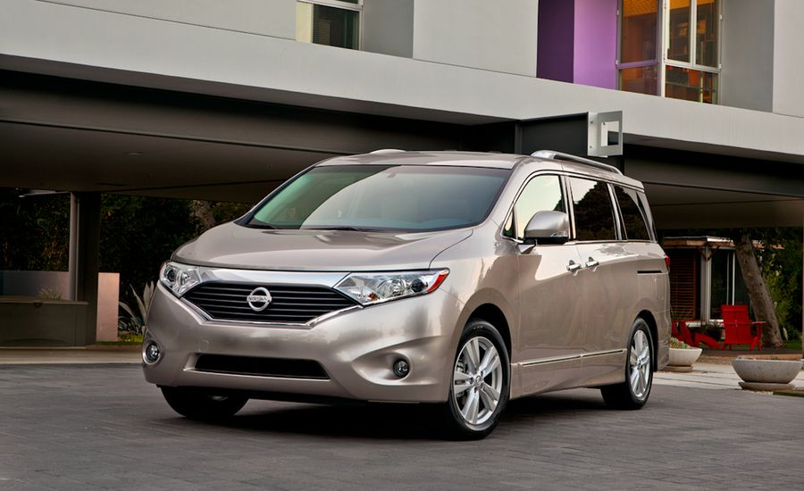 2011 Nissan Quest Drive Nissan Quest Review 150 Car And Driver