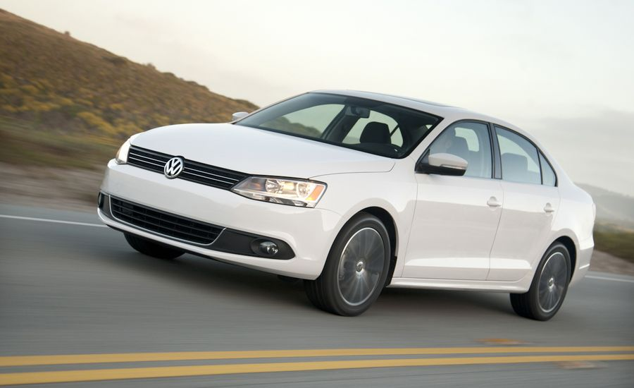 volkswagen jetta  sel road test review car  driver