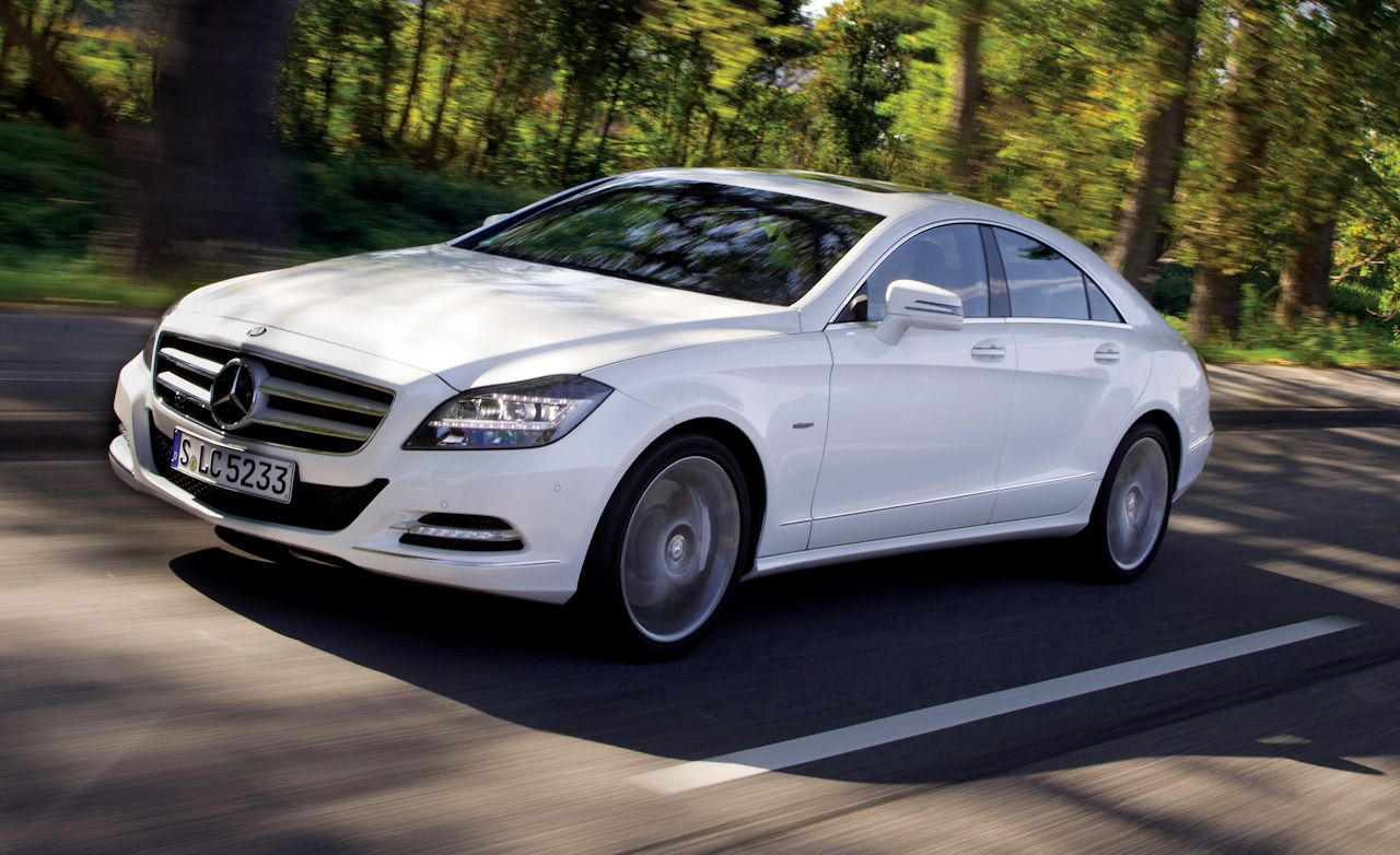 2012 mercedes benz cls550 first drive review car and for Mercedes benz cls 2012 price