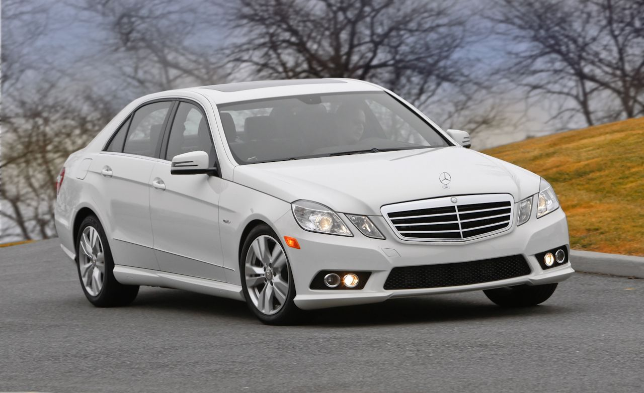 Mercedes benz e class review mercedes e350 diesel test car and driver