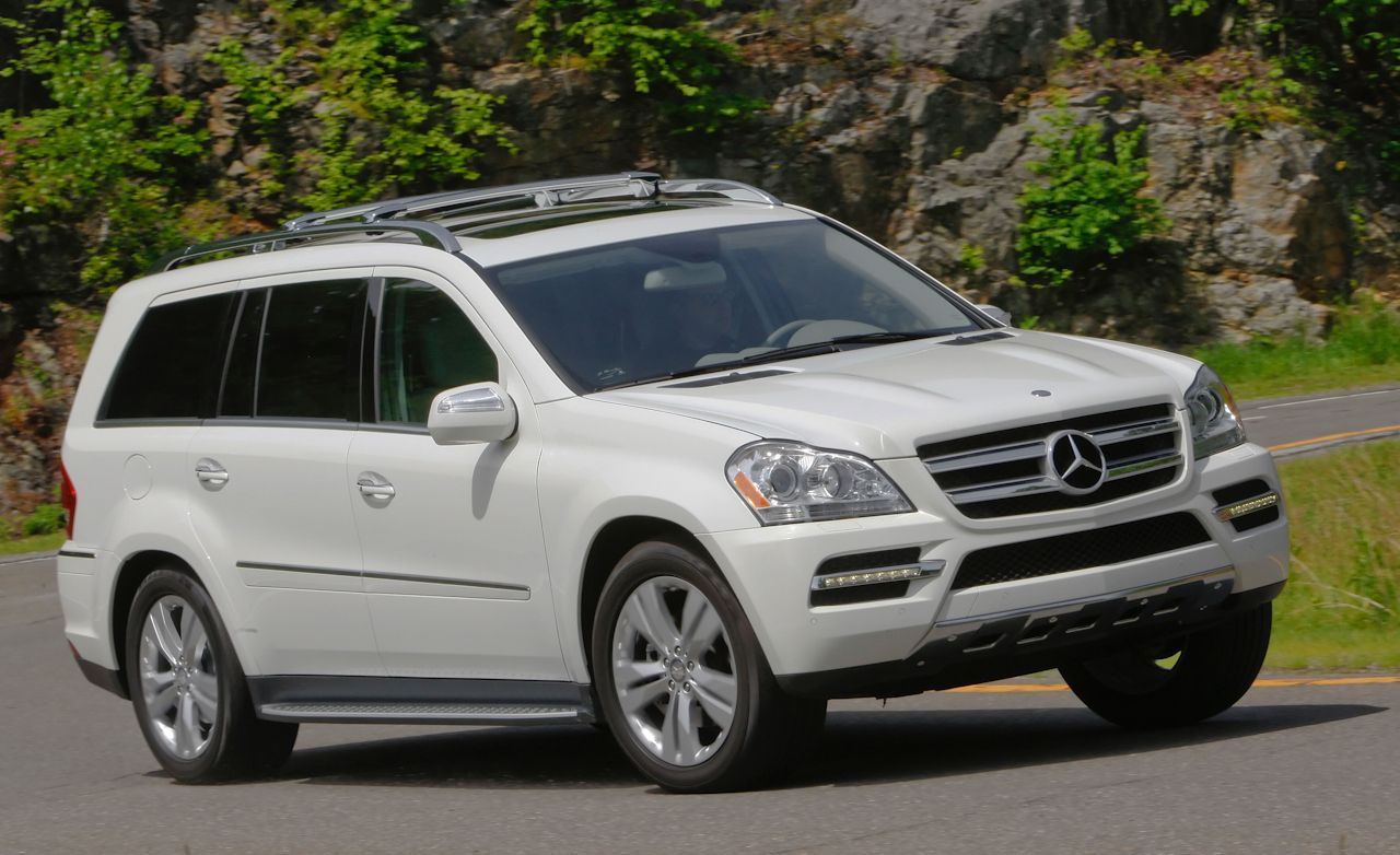 Mercedes Benz Gl Class Drive 2011 Mercedes Gl350 Test Car And Driver