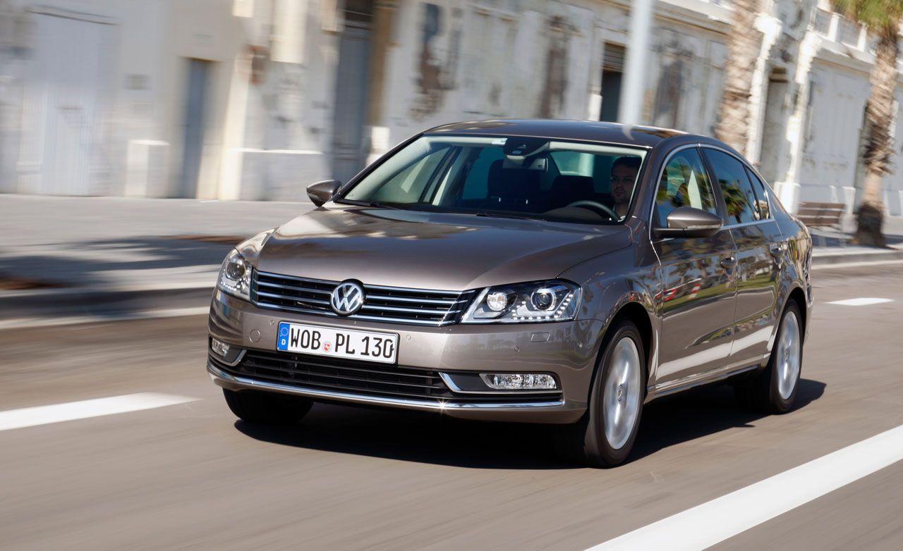 Volkswagen Passat Review Euro 2011 Vw Passat Drive Car