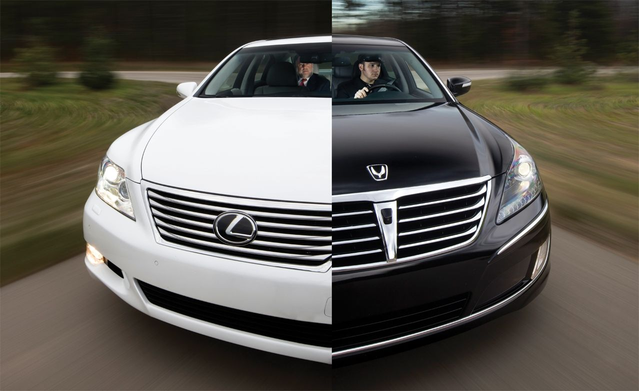 Hyundai Equus Vs Lexus Ls460l Comparison Test Car And Driver