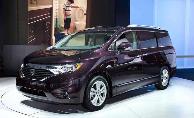 2011 Nissan Quest Official Photos and Info