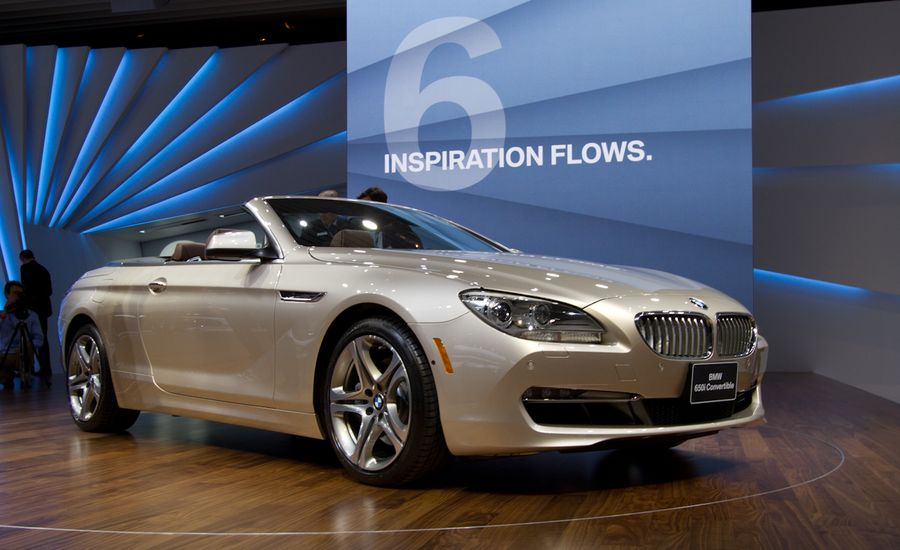 2012 bmw 650i convertible debuts bmw 6 series news car and driver. Black Bedroom Furniture Sets. Home Design Ideas