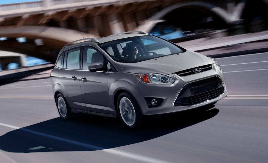 2012 Ford C-Max Official Photos and Info