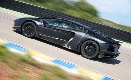 2012 Lamborghini Aventador LP700-4 Prototype Photos