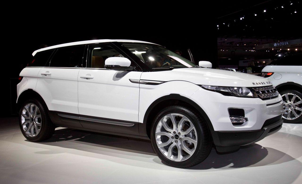 2012 Land Rover Range Rover Evoque Five-Door Official Photos and Info
