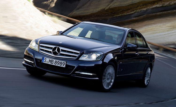 2012 Mercedes-Benz C-class Official Photos and Info