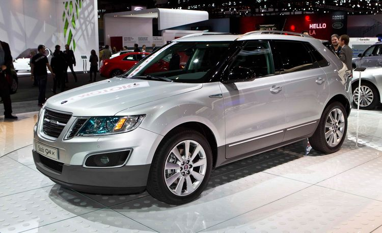 2011 Saab 9-4X Crossover Official Photos and Info
