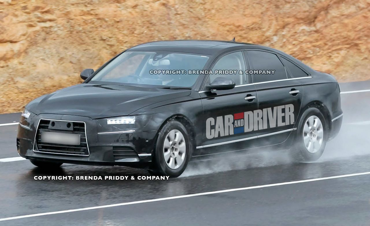 2012 audi a6 spy photos
