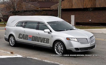 2012 Lincoln MKT Hearse
