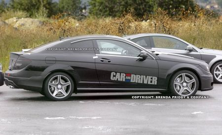 2012 Mercedes-Benz C-class Coupe AMG Spy Photos