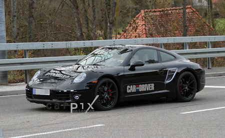 2012 Porsche 911 Carrera Spy Photos