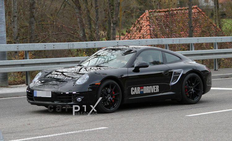 2012 Porsche 911 Carrera Spy Photos