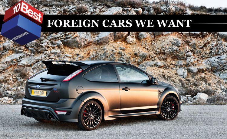 2011 10Best Foreign Cars We Want