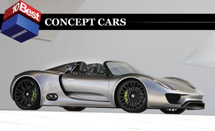 2011 10Best Concept Cars