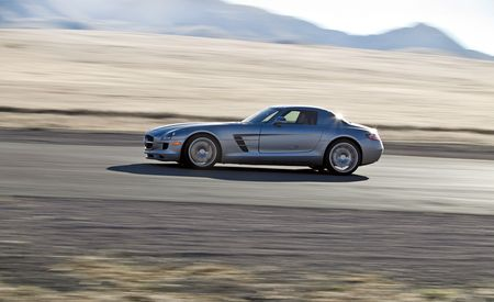 2011 Mercedes-Benz SLS AMG: Doing Donuts in a Gullwing