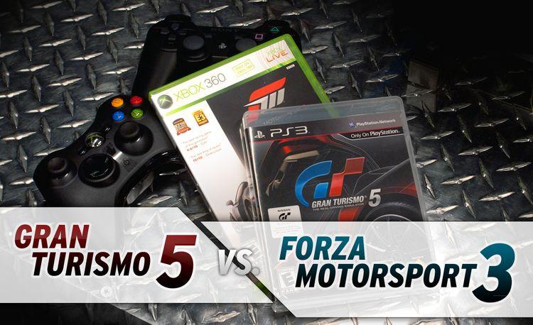 Gran Turismo 5 vs. Forza Motorsport 3