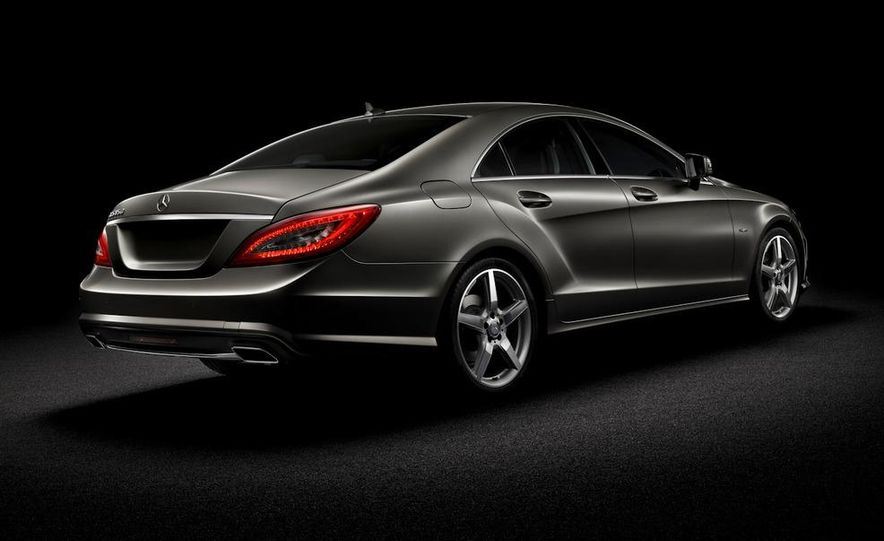 2012 Mercedes-Benz CLS-class (European spec) - Slide 5