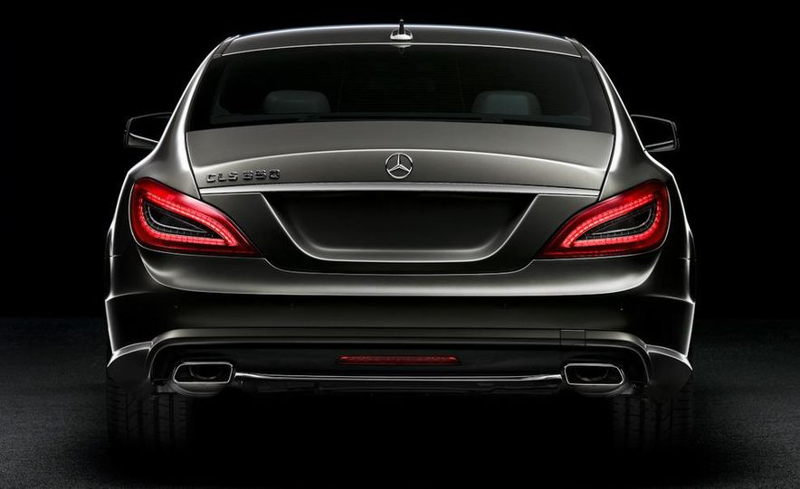 2012 Mercedes-Benz CLS-class (European spec) - Slide 6