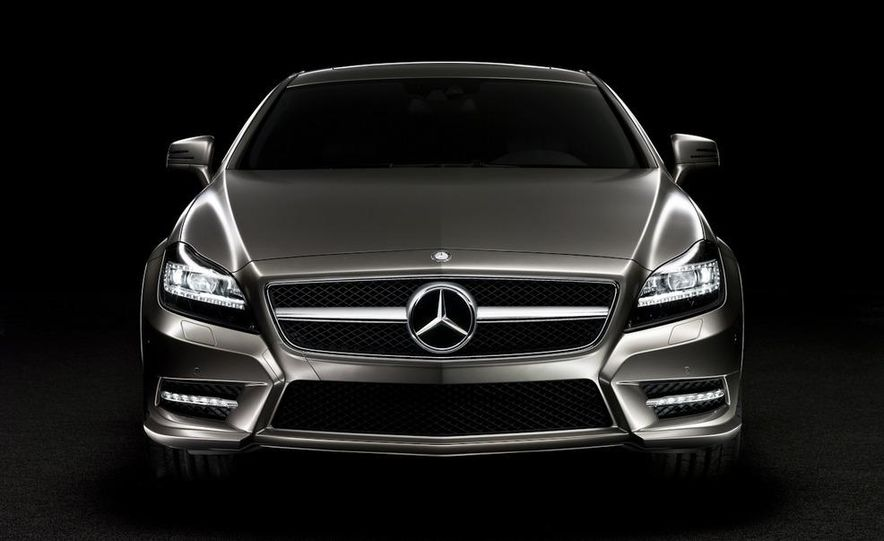 2012 Mercedes-Benz CLS-class (European spec) - Slide 3
