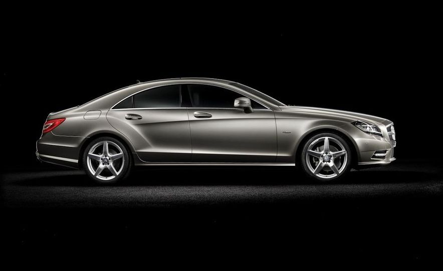 2012 Mercedes-Benz CLS-class (European spec) - Slide 4