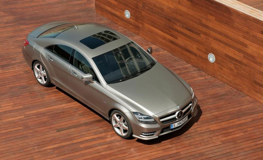 2012 Mercedes-Benz CLS-class (European spec) - Slide 22