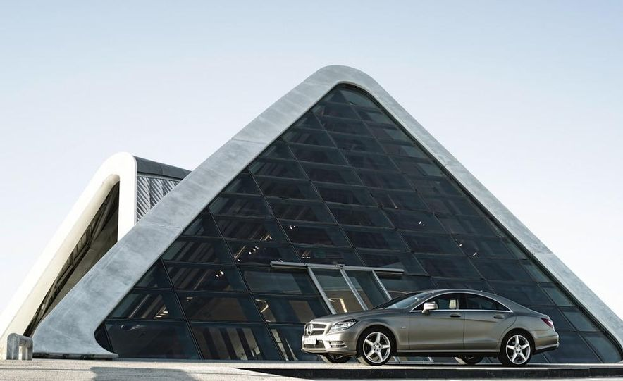 2012 Mercedes-Benz CLS-class (European spec) - Slide 29