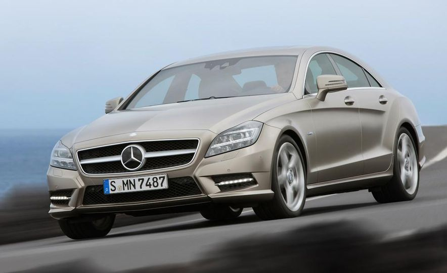 2012 Mercedes-Benz CLS-class (European spec) - Slide 30
