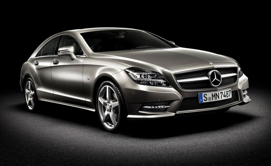 2012 Mercedes-Benz CLS-class (European spec) - Slide 2