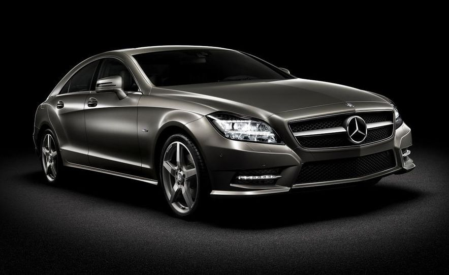 2012 Mercedes-Benz CLS-class (European spec) - Slide 1