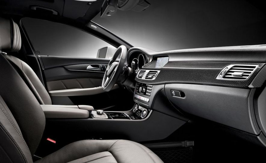 2012 Mercedes-Benz CLS-class (European spec) - Slide 15